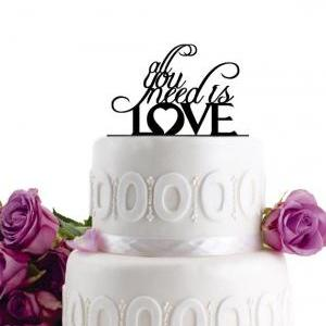 Wedding Cake Topper - Initial Weddi..